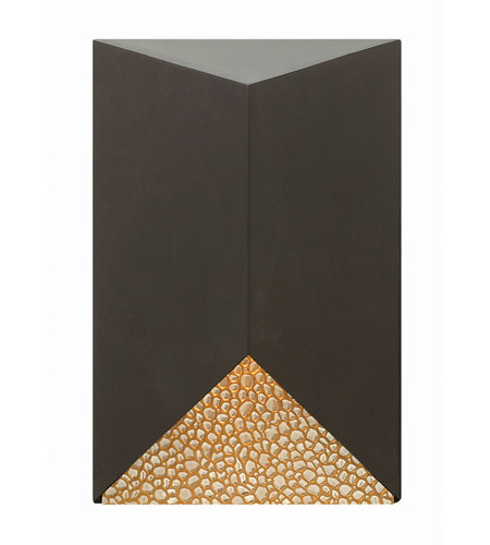 Hinkley Lighting Vento 1 Light Outdoor Wall in Bronze 2180BZ-LED