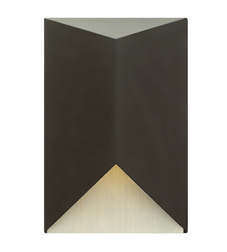Hinkley Lighting Vento 1 Light Outdoor Wall in Satin Black 2180SK