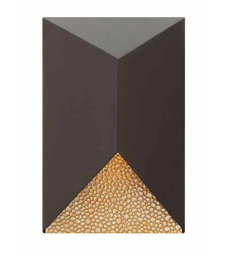 Hinkley 2184BZ-LED Vento 1 Light 12 inch Bronze Outdoor Wall in LED photo