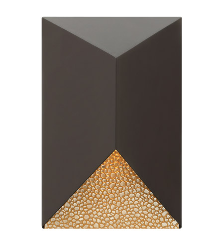 Hinkley 2184BZ Vento 1 Light 12 inch Bronze Outdoor Wall in GU10  photo