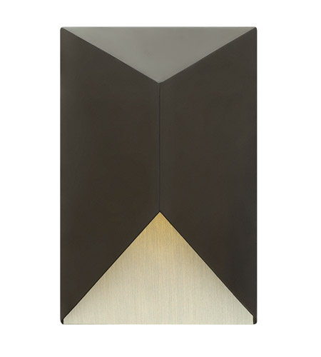 Hinkley Lighting Vento 1 Light Outdoor Wall in Satin Black 2184SK
