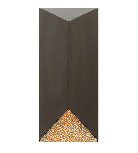 Hinkley Lighting Vento 1 Light Outdoor Wall in Bronze 2185BZ