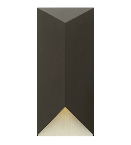 Hinkley Lighting Vento 1 Light Outdoor Wall in Satin Black 2185SK