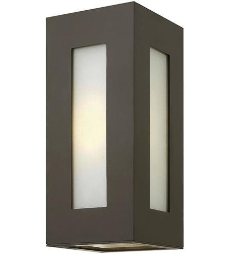 Hinkley Lighting Dorian 1 Light Outdoor Wall in Bronze 2190BZ