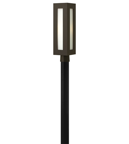 Hinkley Lighting Dorian 1 Light GU24 CFL Post Lantern (Post Sold Separately) in Bronze 2191BZ-GU24