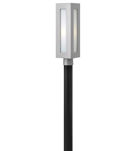 Hinkley Lighting Dorian 1 Light GU24 CFL Post Lantern (Post Sold Separately) in Titanium 2191TT-GU24