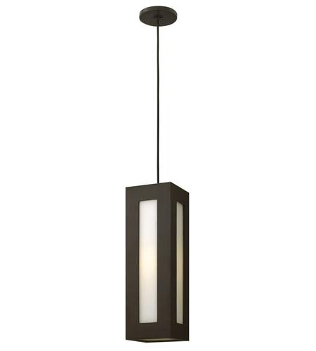 Hinkley Lighting Dorian 1 Light GU24 CFL Outdoor Hanging in Bronze 2192BZ-GU24