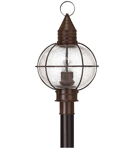 Hinkley Lighting Cape Cod 4 Light Post Lantern (Post Sold Separately) in Sienna Bronze 2201SZ