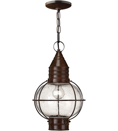 Hinkley Lighting Cape Cod 1 Light LED Outdoor Hanging in Sienna Bronze 2202SZ-LED photo
