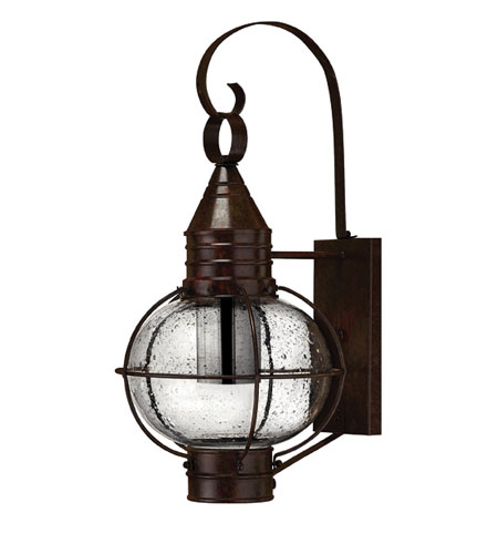 Hinkley Lighting Cape Cod 1 Light Outdoor Wall Lantern in Sienna Bronze 2204SZ-DS photo