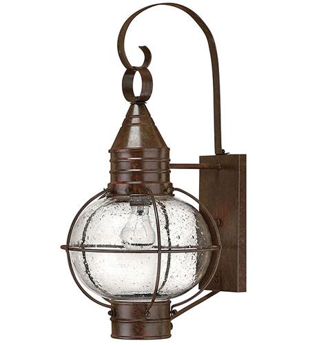 Hinkley Lighting Cape Cod 1 Light Outdoor Wall Lantern in Sienna Bronze 2204SZ photo