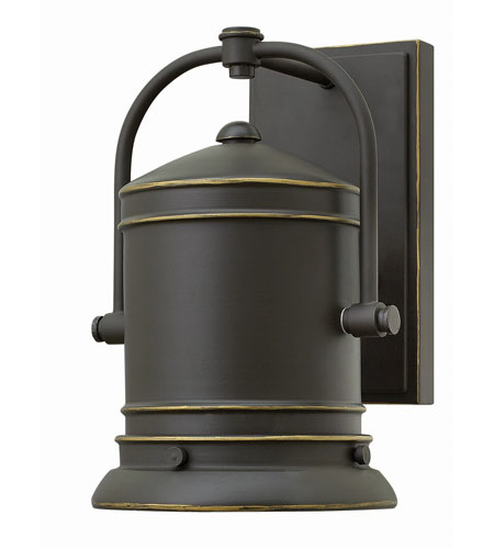 Hinkley Lighting Pullman 1 Light Outdoor Wall in Oil Rubbed Bronze 2210OZ-GU24