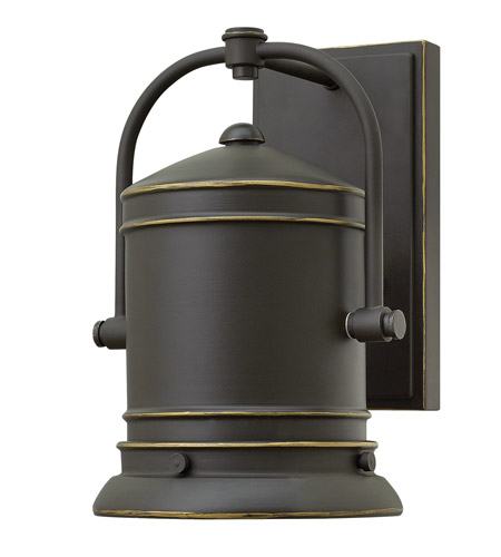 Hinkley 2210OZ-LED Pullman 1 Light 11 inch Oil Rubbed Bronze Outdoor Wall Lantern in LED photo