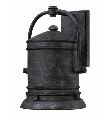 Hinkley 2214GS-GU24 Pullman 1 Light 14 inch Greystone Outdoor Wall in GU24 photo