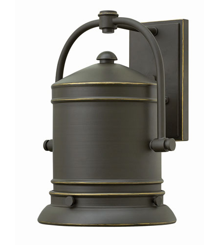 Hinkley 2214OZ-GU24 Pullman 1 Light 14 inch Oil Rubbed Bronze Outdoor Wall in GU24 photo