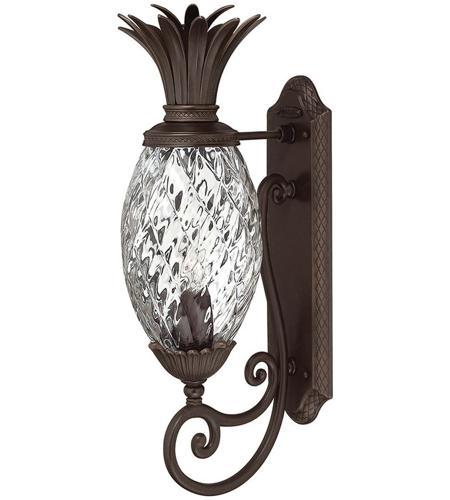 Hinkley Lighting Plantation 1 Light Outdoor Wall Lantern in Copper Bronze 2220CB