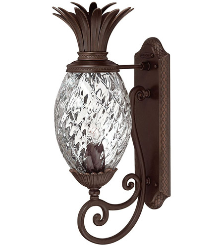 Hinkley 2220CB Plantation 1 Light 21 inch Copper Bronze Outdoor Wall Mount, Small photo