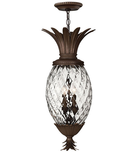 Hinkley 2222CB Plantation 4 Light 13 inch Copper Bronze Hanging Foyer Ceiling Light photo