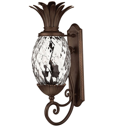 Hinkley 2224CB Plantation 3 Light 28 inch Copper Bronze Outdoor Wall Mount photo