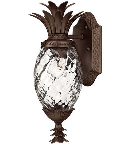 Hinkley Lighting Plantation 1 Light Outdoor Wall Lantern in Copper Bronze 2226CB photo