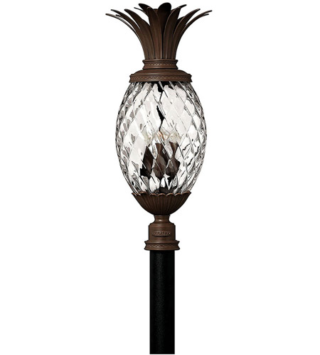 Hinkley Lighting Plantation 4 Light Post Lantern (Post Sold Separately) in Copper Bronze 2227CB
