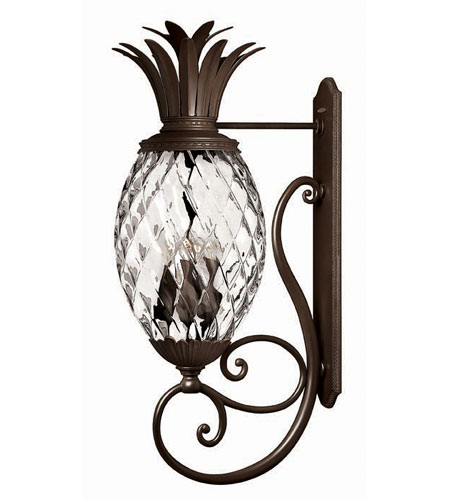 Hinkley Lighting Plantation 8 Light Outdoor Wall Lantern in Copper Bronze 2229CB photo