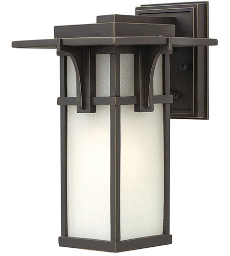 Hinkley Lighting Manhattan 1 Light LED Outdoor Wall in Oil Rubbed Bronze 2230OZ-LED