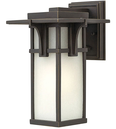 Hinkley 2230OZ Manhattan 1 Light 12 inch Oil Rubbed Bronze Outdoor Wall in Incandescent photo
