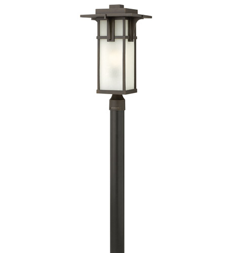 Hinkley Lighting Manhattan 1 Light GU24 CFL Post Lantern (Post Sold Separately) in Oil Rubbed Bronze 2231OZ-GU24