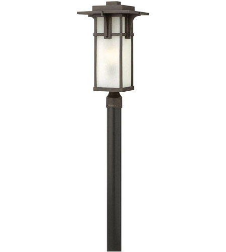 Hinkley 2231OZ-LED Manhattan LED 22 inch Oil Rubbed Bronze Outdoor Post Mount, Post Sold Separately photo