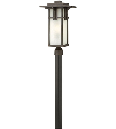Hinkley 2231OZ Manhattan 1 Light 22 inch Oil Rubbed Bronze Post Lantern in Incandescent, Post Sold Separately photo