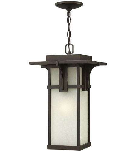 Hinkley 2232OZ-LED Manhattan 1 Light 11 inch Oil Rubbed Bronze Outdoor Hanging in LED photo