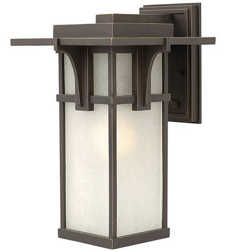 Hinkley Lighting Manhattan 1 Light LED Outdoor Wall in Oil Rubbed Bronze 2234OZ-LED
