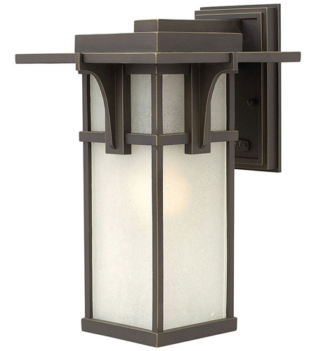 Hinkley 2234OZ Manhattan 1 Light 15 inch Oil Rubbed Bronze Outdoor Wall in Incandescent photo