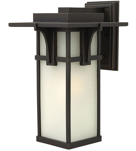 Hinkley 2235OZ-LED Manhattan 1 Light 19 inch Oil Rubbed Bronze Outdoor Wall in LED photo