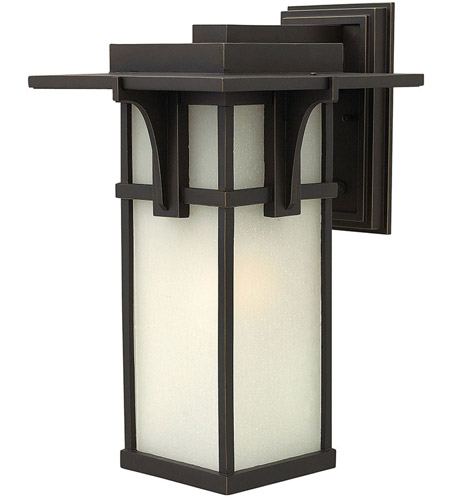 Hinkley Lighting Manhattan 1 Light Outdoor Wall in Oil Rubbed Bronze 2235OZ