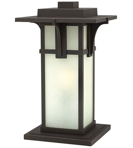 Hinkley 2237OZ Manhattan 1 Light 19 inch Oil Rubbed Bronze Pier Mount Head in Incandescent photo