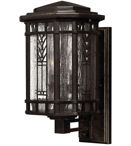 Hinkley Lighting Tahoe 3 Light Outdoor Wall Lantern in Regency Bronze 2240RB photo