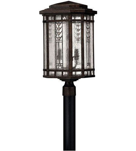 Hinkley Lighting Tahoe 4 Light Post Lantern (Post Sold Separately) in Regency Bronze 2241RB photo