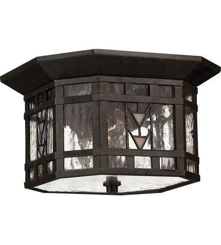 Hinkley 2243RB Tahoe 2 Light 10 inch Regency Bronze Outdoor Flush Lantern photo