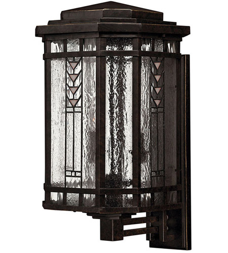 Hinkley Lighting Tahoe 4 Light Outdoor Wall Lantern in Regency Bronze 2244RB