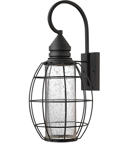 Hinkley Lighting New Castle 1 Light Outdoor Wall in Black 2258BK photo