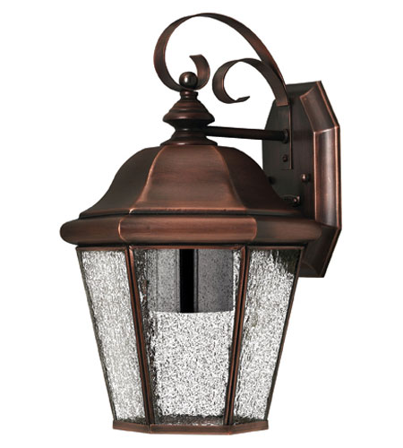 Hinkley Lighting Clifton Beach 1 Light Outdoor Wall Lantern in Antique Copper 2263AP-DS photo