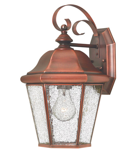 Hinkley 2263AP Clifton Beach 1 Light 15 inch Antique Copper Outdoor Wall Lantern photo