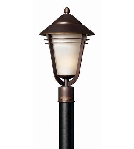 Hinkley Lighting Aurora 1 Light Post Lantern (Post Sold Separately) in Metro Bronze 2281MT