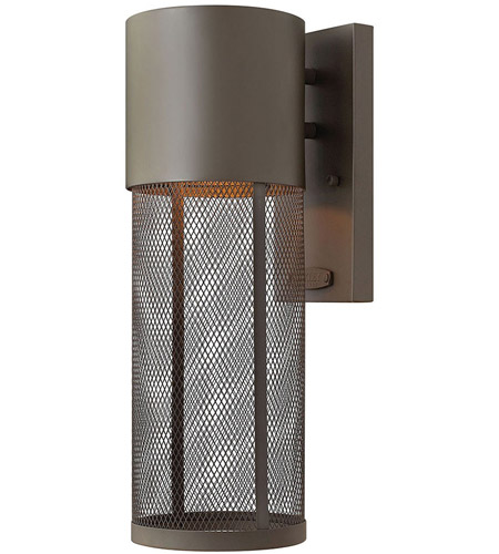 Hinkley 2300KZ-LED Aria LED 14 inch Buckeye Bronze Outdoor Wall Lantern photo