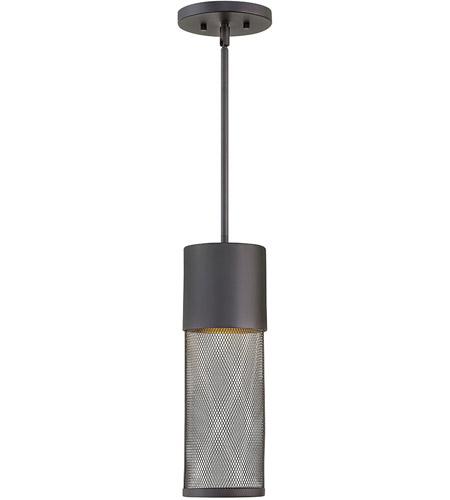 sc 1 st  Hinkley Lighting Lights & Hinkley 2302BK-LED Aria LED 5 inch Black Outdoor Hanging Light