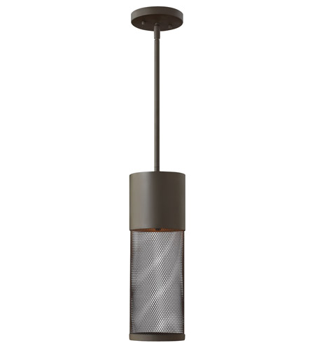 Hinkley Lighting Aria 1 Light GU24 CFL Outdoor Hanging in Buckeye Bronze 2302KZ-GU24