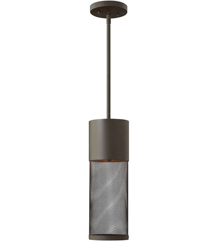 Hinkley 2302KZ-LED Aria LED 5 inch Buckeye Bronze Outdoor Hanging Lantern photo