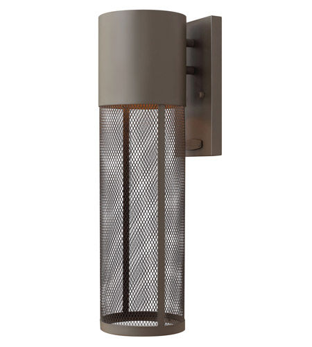 Hinkley Lighting Aria 1 Light GU24 CFL Outdoor Wall in Buckeye Bronze 2304KZ-GU24 photo